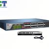 Swicht 24 cổng POE Hikvision SH-1024P-2C 10/100Mbps