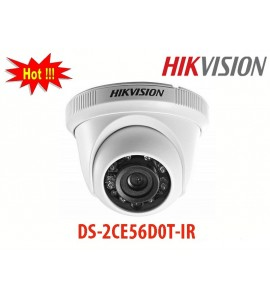 Camera Hikvision DS-2CE56D0T-IR HD-TVI dạng dome