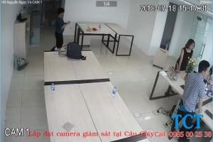 Lắp đặt camera quan sát tại Nguyễn Ngọc Vũ Cầu Giấy