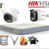 Lắp đặt 8 camera Hikvision nhìn đêm có màu giá rẻ