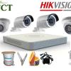 Lắp đặt trọn gói 15 camera quan sát Hikvision HD-TVI 720P