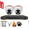 Lắp đặt trọn bộ 2 camera quan sát giá rẻ