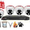 Lắp đặt trọn bộ hệ thống 4 camera giám sát giá rẻ