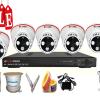 Lắp đặt trọn bộ hệ thống 5 camera quan sát giá rẻ