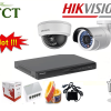 Lắp đặt trọn bộ 4 camera IP Hikvision độ phân giải Full HD 1080P
