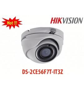 Camera HD-TVI DS-2CE56F7T-IT3Z hikvision 3mp hồng ngoại 40m