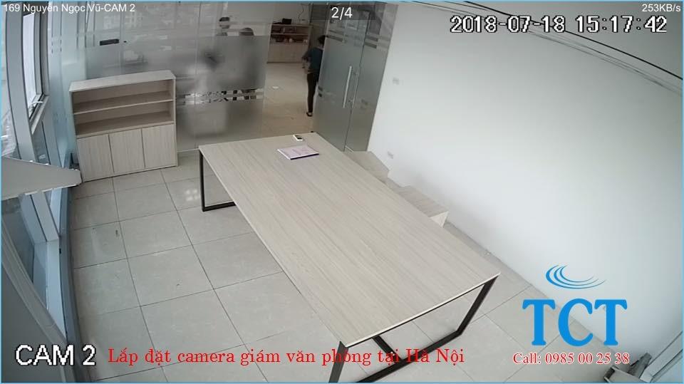 camera giam sat van phong