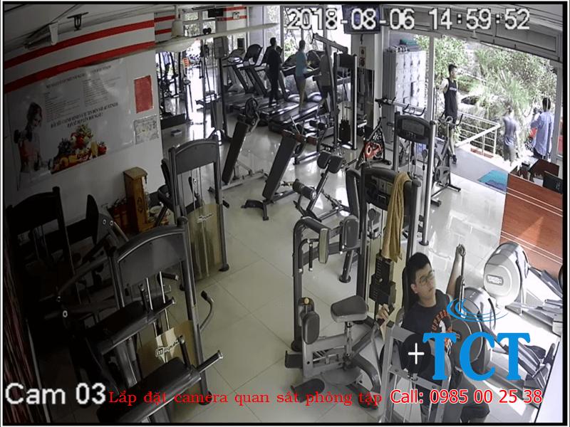 Lắp đặt camera giám sát tại Hoàng Văn Thái