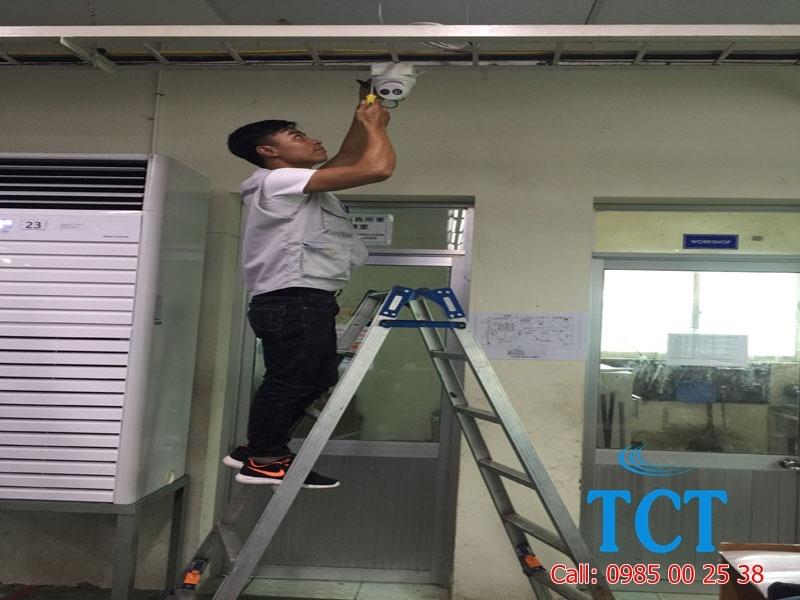 Lắp đặt camera giám sát tại khu công nghiệp Hà Nam
