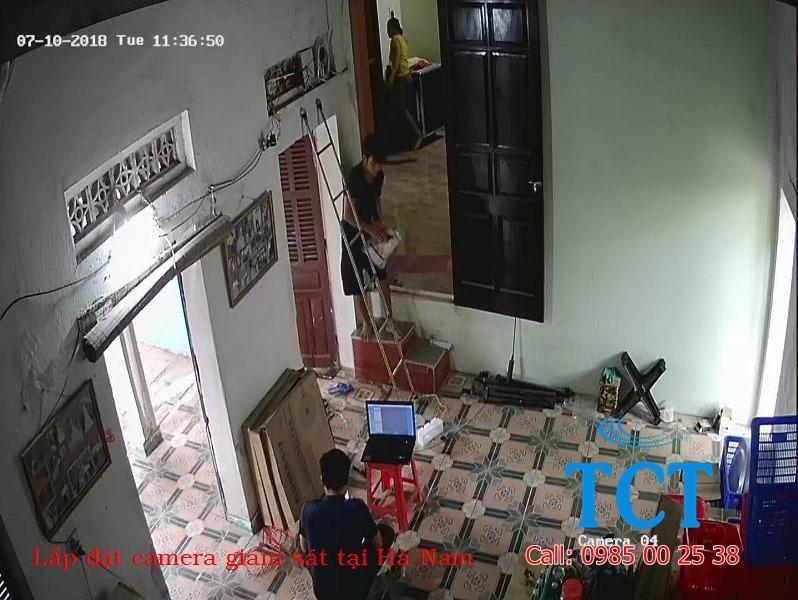 lắp đặt camera giám sát tại tiên ngoại duy tiên hà nam