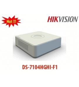 Đầu ghi hình 4 kênh DS-7104HGHI-F1 HD-TVI hikvision 720
