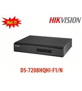 Đầu ghi 8 kênh DS-7208HQHI-F1/N Turbo HD-TVI Hikvision