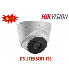 Camera DS-2CE56C0T-IT3 hikvision dạng dome HD-TVI