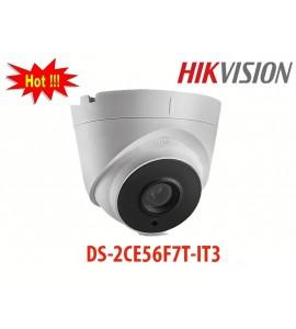 Camera DS-2CE56F7T-IT3 hikvision dạng dome hồng ngoại