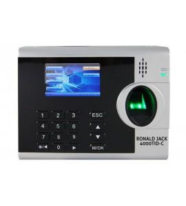 Máy chấm công vân tay và thẻ cảm ứng RONALD JACK 4000TID-C giá rẻ