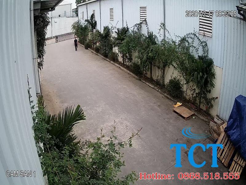 Lap dat camera giam sat tai khu cong nghiep Ha Nam