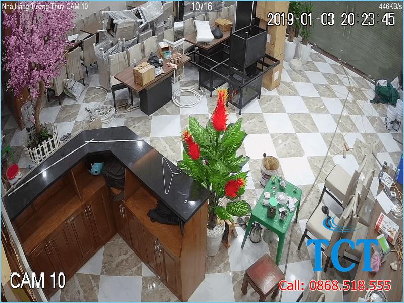 Lắp đặt camera giám sát trọn bộ tại Hà Nội